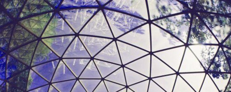 Dome UFO Over Houston