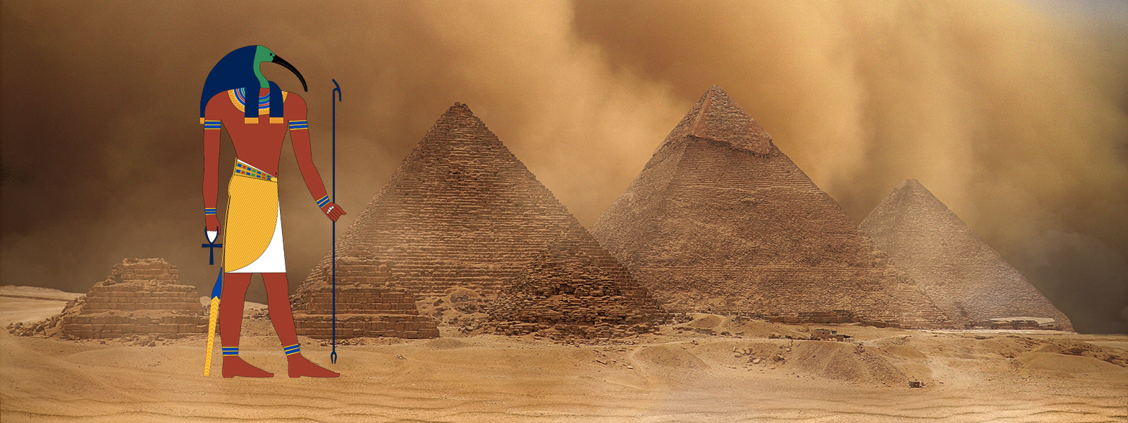 Thoth and the Pyramids in Ancient Egypt